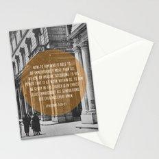 Ephesians 3:20-21 Stationery Cards
