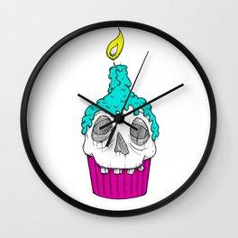 Skullcake Wall Clock