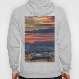 Last Light at Peggy's Cove Harbor Hoody
