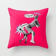 Butt Jab Throw Pillow