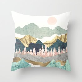 Summer Vista Throw Pillow