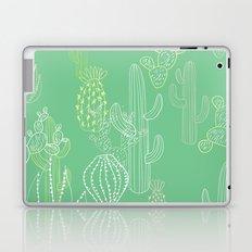 Botanical Pattern - Cactus Laptop & iPad Skin