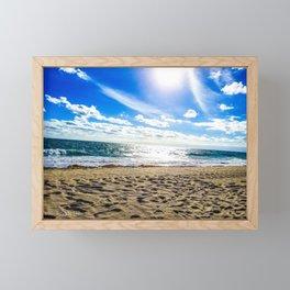 Amanecer En Florida (I) Framed Mini Art Print