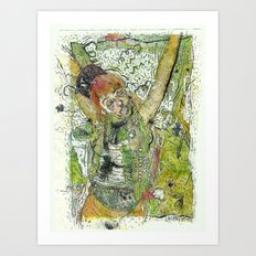 Crucifiction  Art Print
