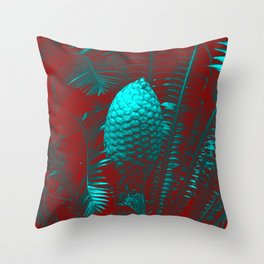 Palm Fantasy Throw Pillow