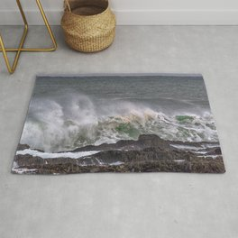Splash of sea salt. Rug