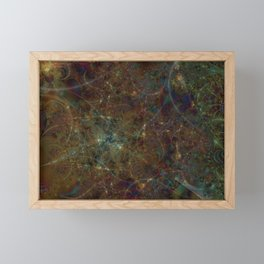 Alien City 1 Framed Mini Art Print