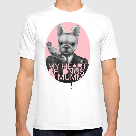 My heart belongs to Mummy T-shirt