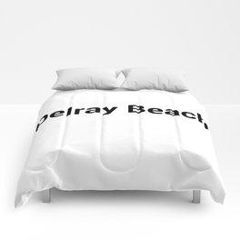 Delray Beach Comforters