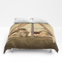 Not so Little Angels Comforters