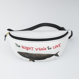 The right whale to love Fanny Pack