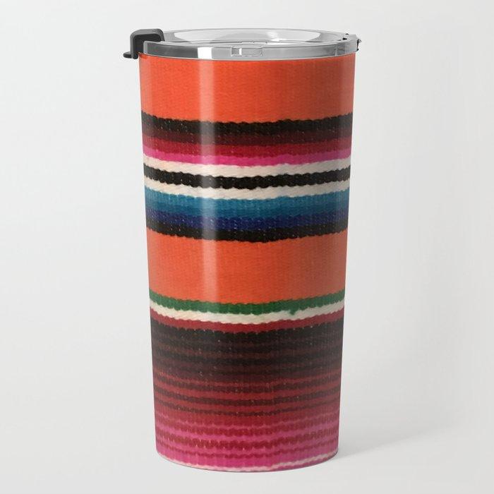 BEAUTIFUL MEXICAN SERAPE Travel Mug