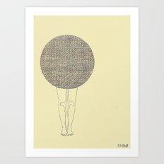 ballad legs Art Print