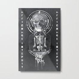 Forbidden Display. Very Rock Metal Print