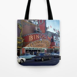 Late Afternoon at the Lucky Strike Club, Las Vegas Tote Bag