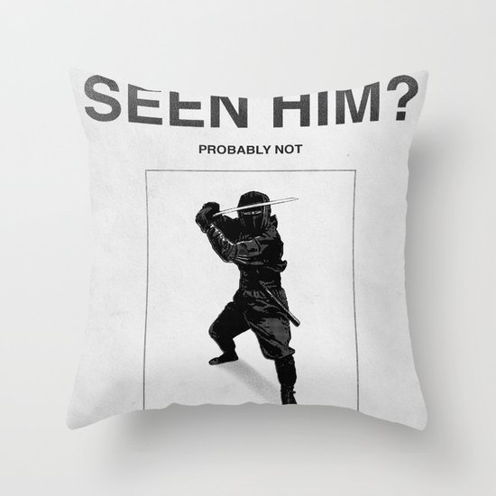Have you seen him? Throw Pillow