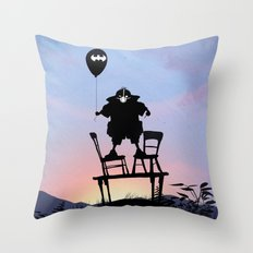 Bane Kid Throw Pillow