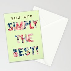 Simply the Best Stationery Cards