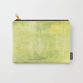 Yellow green watercolor Carry-All Pouch
