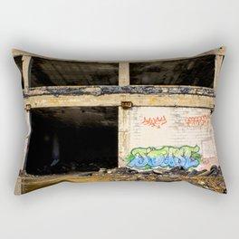 Packard Plant Deux Rectangular Pillow