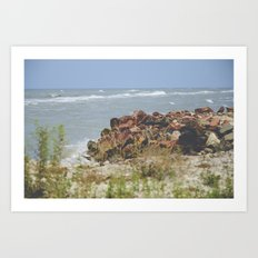 Summer by the Sea Art Print