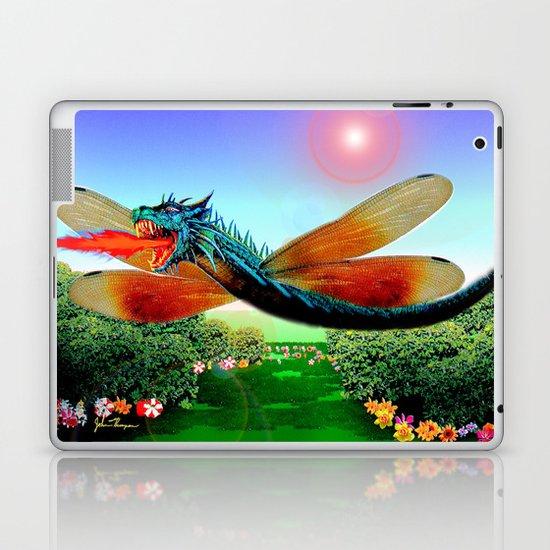 Dragon fly Laptop & iPad Skin