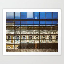 Window Scapes Art Print
