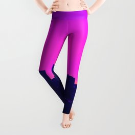 Vaporwave City Leggings