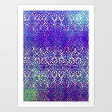 BABEELON BLUE Art Print