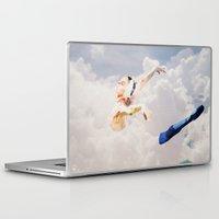 ballerina Laptop & iPad Skins featuring Ballerina  by Ed Pires