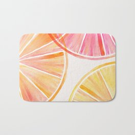 Summer Citrus Party Bath Mat