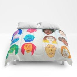 Strangers Blinking Comforters