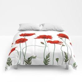 Poppy Stems Comforters