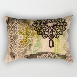 Patterned to Win Rectangular Pillow