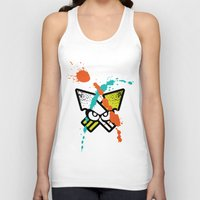 Splatoon - Turf Wars 4 Unisex Tank Top
