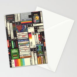 Cassettes, VHS & Atari Stationery Cards