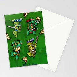 Pizza, Reptiles, and Ninjitsu Stationery Cards