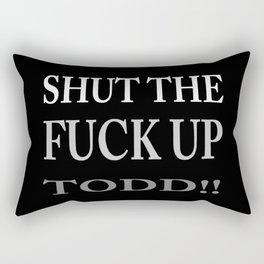 STFU Todd Rectangular Pillow