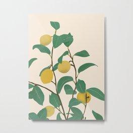 Lemon Metal Print
