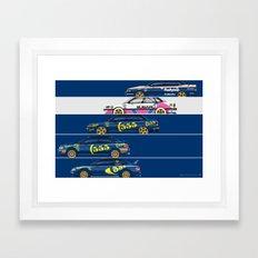 Colin McRae, The Subaru Years Framed Art Print
