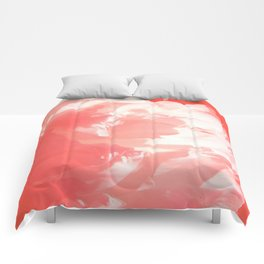 White peony Comforters