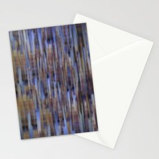 Abstract ~ Blue  lines Stationery Cards