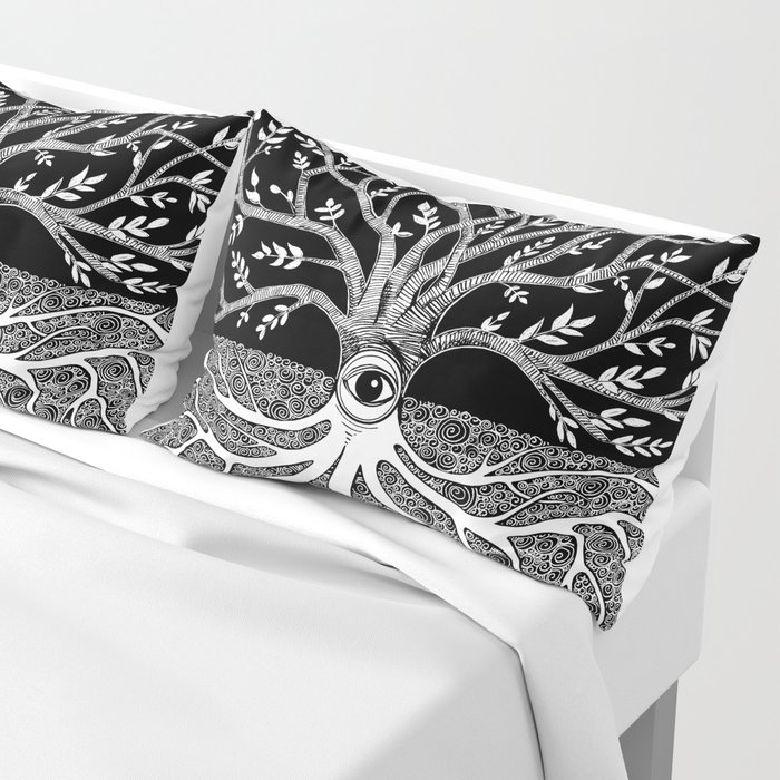 Druid Tree of Life Pillow Sham