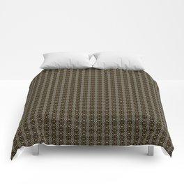 Meshed in Bronze Comforters