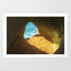 A window to the sea Art Print