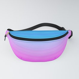 Pink & Blue Circles Fanny Pack