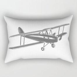 Vintage airplane Rectangular Pillow