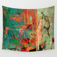 history Wall Tapestries featuring Trojan Horse by Fernando Vieira