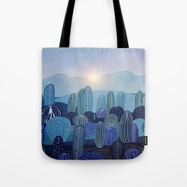 Lines in the mountains 04 Tote Bag