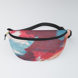 Blue & Pink 2 Fanny Pack